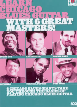 Chicago Electric Blues Guitar With 6 Great Masters